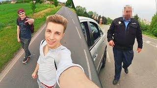 ZASTAVEN POLICIÍ NA LONGBOARDU!