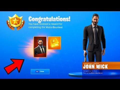 The New John Wick Skin Coming To Fortnite Battle Royale Youtube
