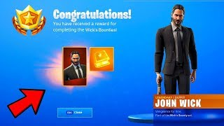 THE NEW JOHN WICK SKIN COMING TO FORTNITE: BATTLE ROYALE!