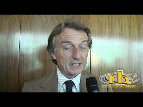 LUCA CORDERO DI MONTEZEMOLO intervista (Partita del Cuore 2010) - WWW.RBCASTING.COM