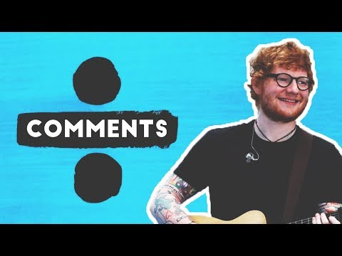 The Extraordinary Comments under -  Shape of You  Music Video by Ed Sheeran | Reading and Replying