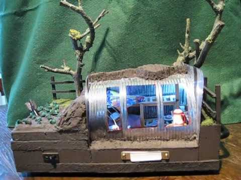 Anderson Air Raid Shelter School Project Ww2 Model By