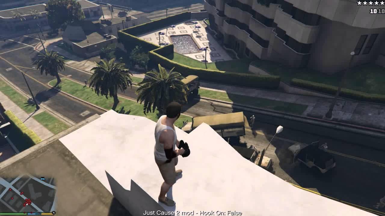 Скачать мод джаст каус 2
