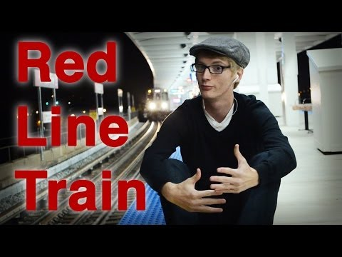 Chicago CTA Red Line Train - Music Video
