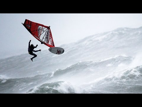 Windsurfing in Extreme Hurricane Conditions   Red Bull Storm Chase