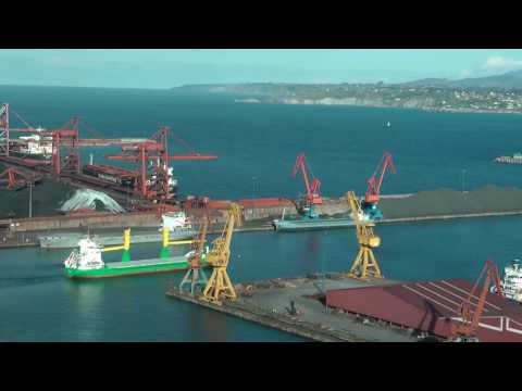 TIMELAPSE FORESTER IMO 9123300 DIUT GERMANY GIJON HD