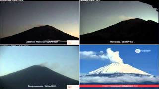Popocatepetl - 20151226 - 16:40 A 22:40 Hrs
