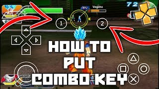 How to Add Combo Key PPSSPP Emulator Hindi   DBZ Game PPSSPP Combo Key Setting