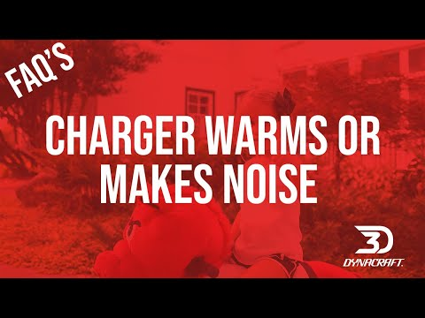 FAQ: Should I worry if my charger gets warm or makes a noise when charging?