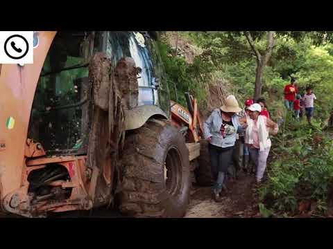 Alcaldía de Ibagué habilitó la vía hacia la verada El Porvenir afectada por el invierno