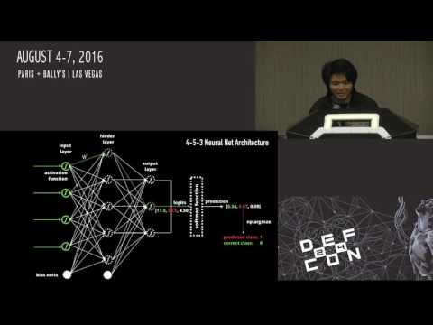 DEF CON 24 - Clarence Chio - Machine Duping 101: Pwning Deep Learning Systems