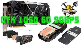Все о GTX1060 6G 9Gbps в майнинге на примере Aorus GeForce gtx1060 Xtreme Edition выжимаем все соки