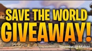 FORTNITE STW 130'S AND 106's GIVEAWAY /MISSIONS