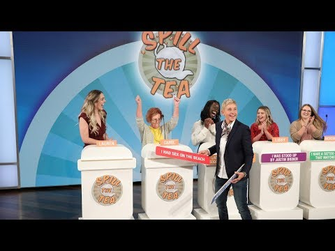 Ellen Gets Audience Members to 'Spill the Tea'