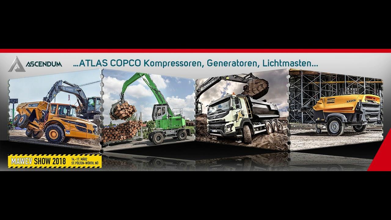 MAWEV SHOW 2018 - ASCENDUM Baumaschinen Österreich