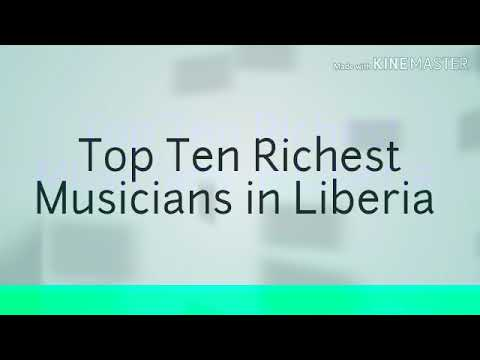 Top Ten Richest Musicians in Liberia by Abraham Roberts