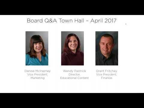 PASS Board Town Hall Q&A Summit Program Innovation – April 13, 2017