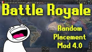 Hearts of Iron 4 | Battle Royale with Random Placement Mod