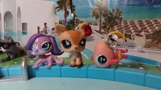 клип вечеринка у бассейна Littlest Pet Shop INNA - Cola Song