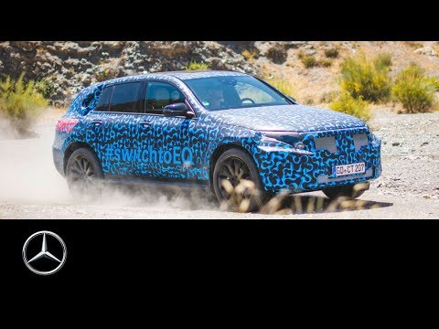 Mercedes-Benz EQC 2019: Final heat testings