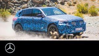 Mercedes-Benz EQC 2019: Final heat testings