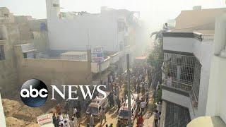 Plane Crashes In Pakistan, At Least 91 Aboard L Abc News