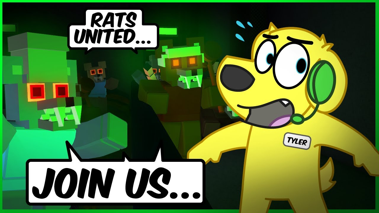ATTACK of the RATS! Roblox NIGHTMARE in the SEWERS