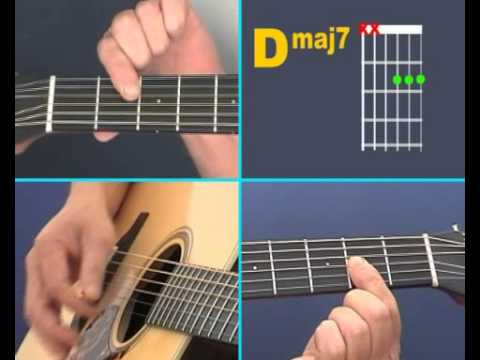 Video - Open D Major 7th Chord