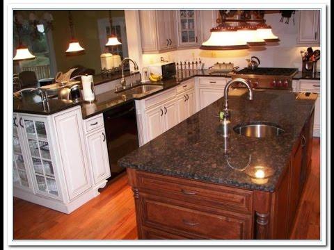 Backsplash Ideas for Brown Granite Countertops - YouTube on Backsplash Ideas With Granite Countertops  id=96801