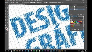 CURSO DESIGN GRÁFICO - Tutorial Illustrator - Efeito Blue Print