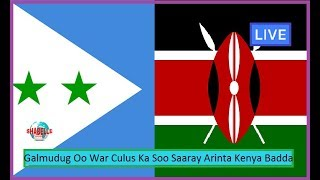 Galmudug Oo War Culus Ka Soo Saartay Muranka Badda Ee u Dhaxeeya Kenya Iyo Somaliya Iyo Madaxda DF
