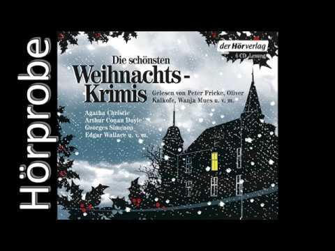 Die schönsten Weihnachtskrimis YouTube Hörbuch Trailer auf Deutsch