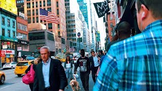 Walking Around New York City - Manhattan Videowalk【4K】🇺🇸