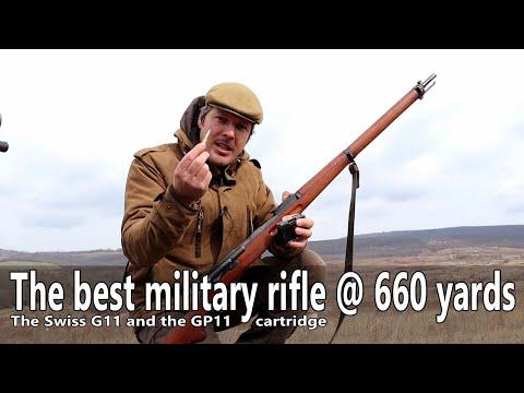 The Best Military Rifle @ 660 Yards - The Schmidt Rubin G11