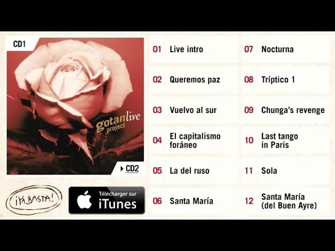 Gotan Project - Last Tango in Paris - Live CD1