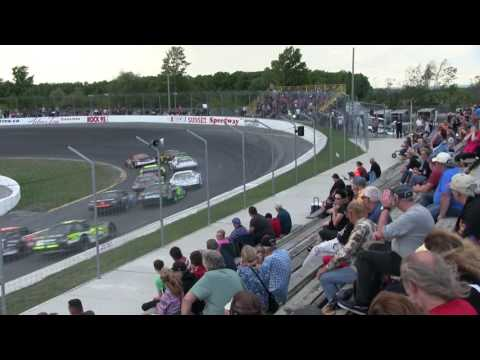Sunset Speedway Late Model Feature 1 2016 09 10