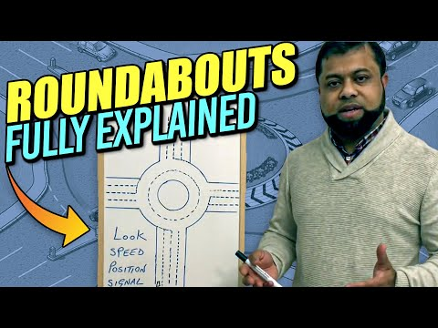 Roundabouts driving lessons – How to deal with roundabouts – Learning to drive