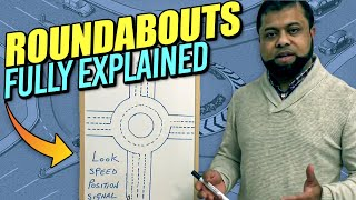 Roundabouts driving lessons - How to deal with roundabouts - Learning to drive