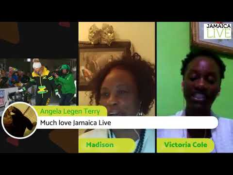 Jamaica Women's Bobsled Team roar. Etana get handout?!