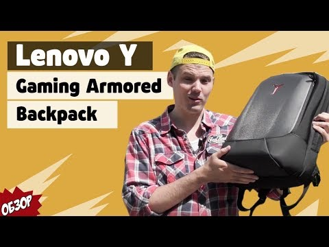 72d6600171 Funduk TV · Обзор рюкзака для гика - Lenovo Y Gaming Armored Backpack  3527875
