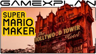 Disney's Tower of Terror in Super Mario Maker