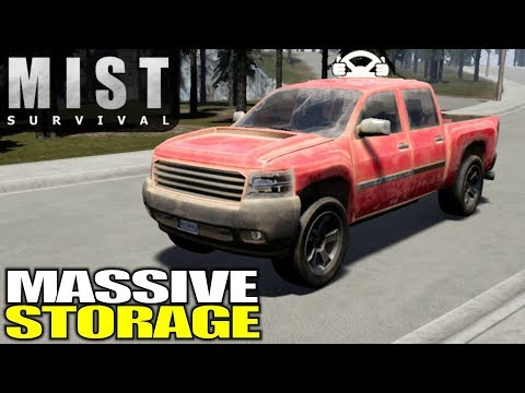 TRUCK UPGRADE WITH MASSIVE STORAGE | Mist Survival | Let's Play Gameplay | S03E02