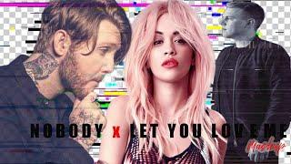 NOBODY x LET YOU LOVE ME (Mashup) | ft Martin Jensen, Rita Ora, James Arthur