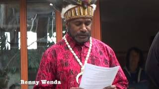 Opening new Office Free West Papua Campaign Oxford 2013
