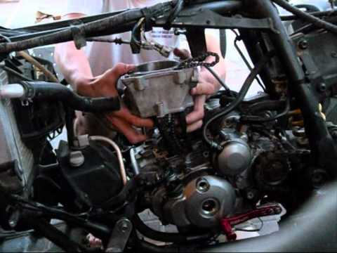 How to install a YFZ450 Cylinder (98mm big bore) by UAE Mechanics