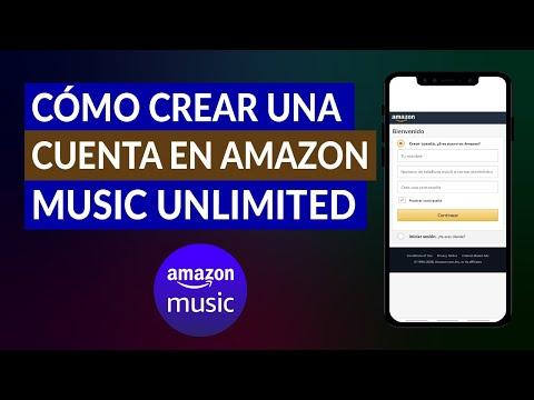 Cómo Crear una Cuenta y Suscribirse a Amazon Music Unlimited Fácilmente