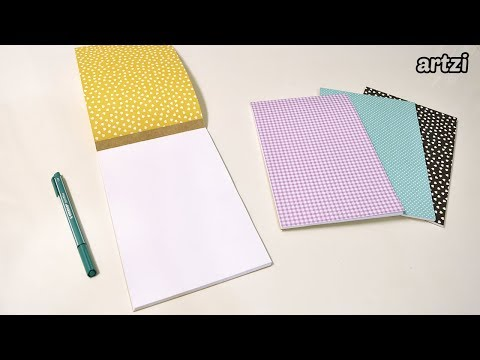 DIY A Simple Notepad