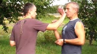 Уроки самообороны: удар ладонью