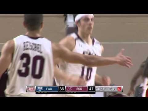 Eastern Kentucky v Florida Atlantic Basketball Highlights