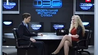 Actress Elena Khlibko in Sled TV-Series